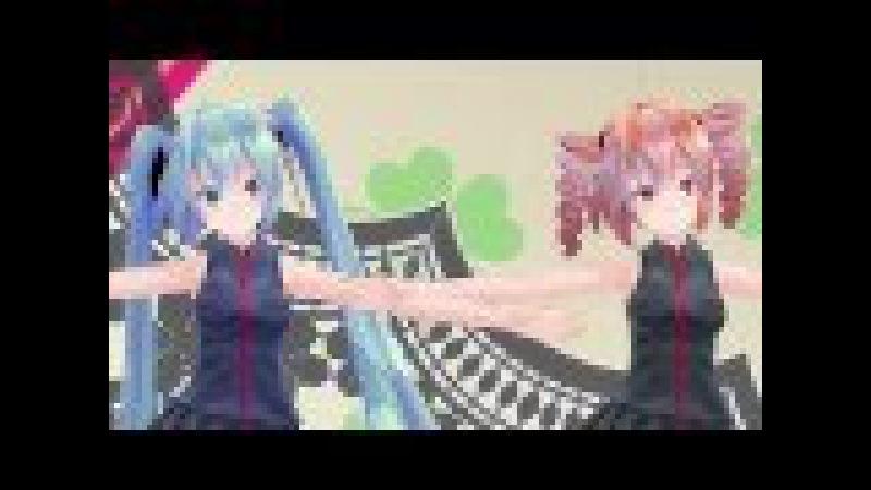 MMD 恋はきっと急上昇☆ Tda式append 初音ミク テト FHD 1080p