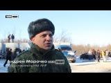 Военные ЛНР и Красный Крест установили пункт обогрева на линии разграничения у ...
