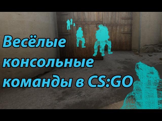 Весёлые консольные команды в CS GO