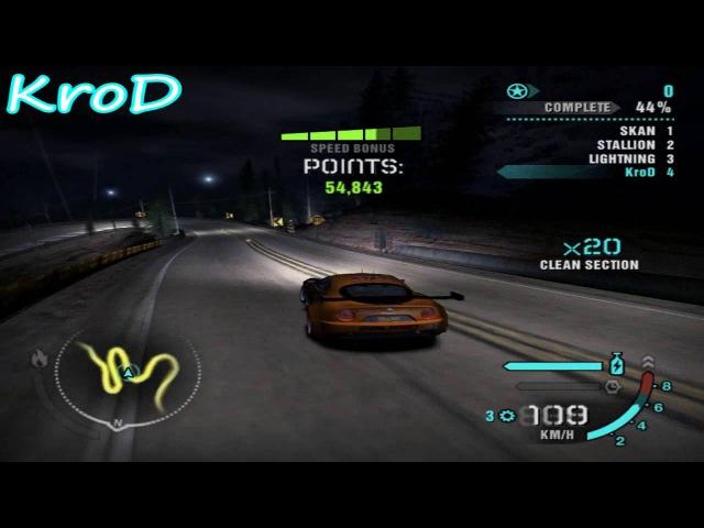 Drift-Battle/KroD vs. YT_MaximGamer_YT/Desperation Ridge nfsc36