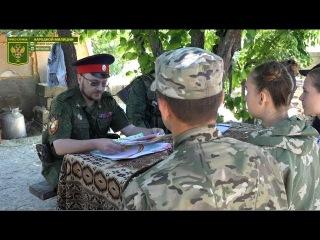 Дети ЛНР передали рисунки военнослужащим НМ ЛНР на передовую