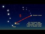 Как найти Полярную звезду Как найти Малую Медведицу Схема Большого Ковша (Инфографика).