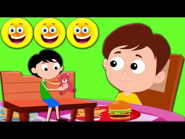 Эмоции Песня Песня для детей Младенцы Музыка Preschool Song Rhyme For Kids Emotions Song