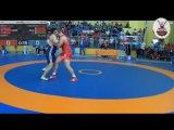 Heorhi Chuhashvili (BLR) vs Oskar Marvik (NOR) GR130 1/8 FINALE