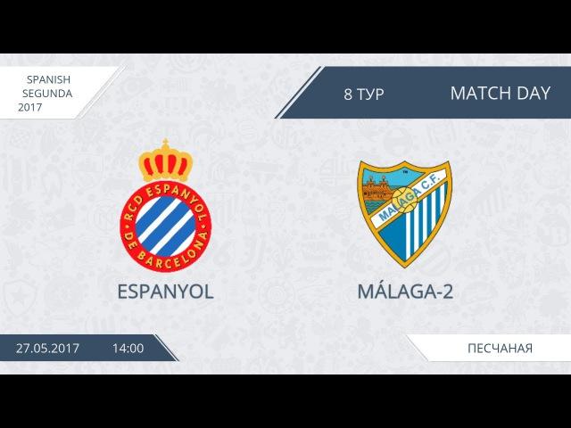 AFL17 Spain Segunda: Espanyol - Malaga-2