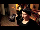 Tribal head wrap tutorial with Marta