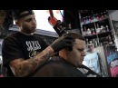 Freestyle hair design by Elegance Sponsored barber Arod