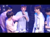 [160821] ChunJi & Ricky Game @ Teen Top 5th Official Fanmeeting