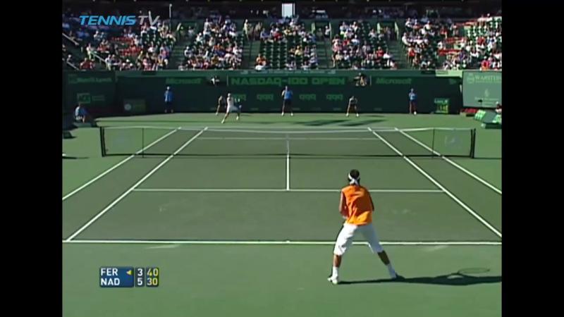 Nadal Ferrer Miami 2005 SF