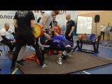 Жим 255 кг ВМТ Русский Север г. Вологда