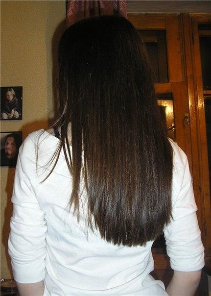 Стрижка на длинные прямые волосы вид сзади