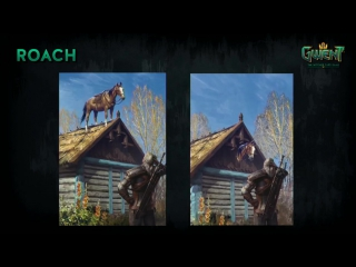 Animated Roach card from PAX East 2017 | Gwent: The Witcher Card Game