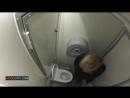 Скрытая камера в женском туалете вид сверху