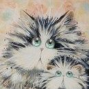 Котики от Ким Хаскинс