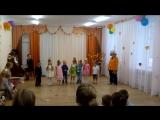 Сынок в детском саду на празднике
