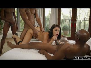 Adriana chechik мжм порно секс трахают толпой груповуха во все дыры