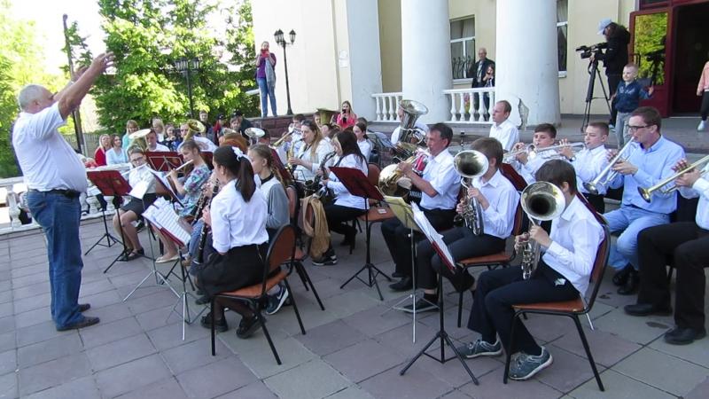Концерт юношеского оркестра г.Истра
