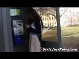 Czech Girls in raunchy outdoor lesbian.