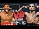 Versus 16 05 17 22 05 17 Деннис Бермудез Серхио Пэттис Тимоти Джонсон Реза Мадади UFC