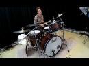 Kevin Warren - drum improvisation Dream Cymbals and Pearl Wood/Fibreglass Kit