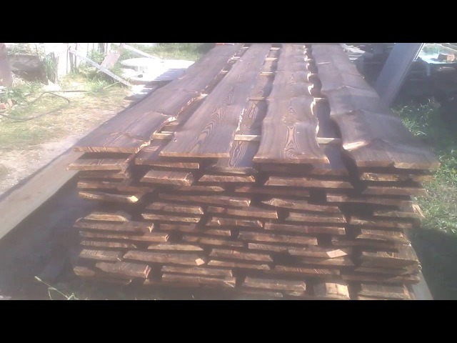 Обжиг древесины Yakisugi Shou Sugi Ban