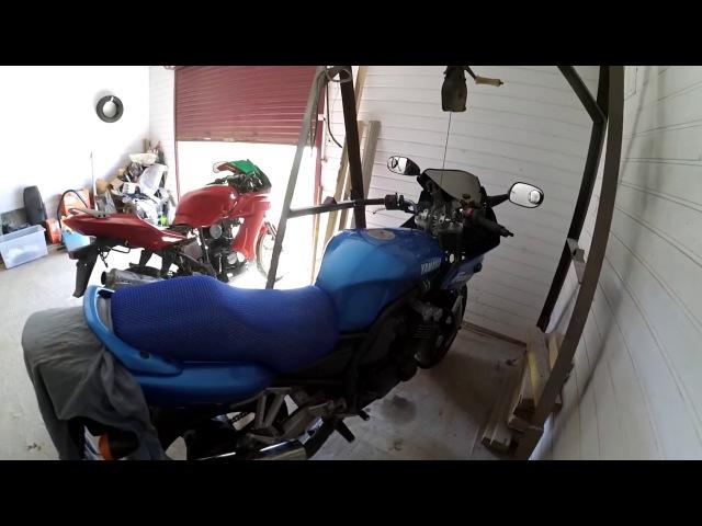 Бложек № 48 Yamaha FZS600 Полный осмотр Замена охлаждающей жидкости Результат покрас
