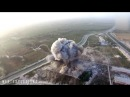 Drone films Taliban suicide bomb attack on police HQ in Helmand   YouTube