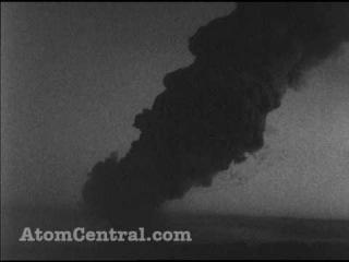 Unedited atomic bomb explosion w sound
