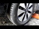 проверка схождения колес на киа рио 2014 способ 2