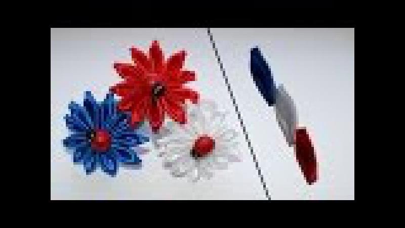 лепестки Триколор с перекрёстом/Tricolor petals with perekrestov