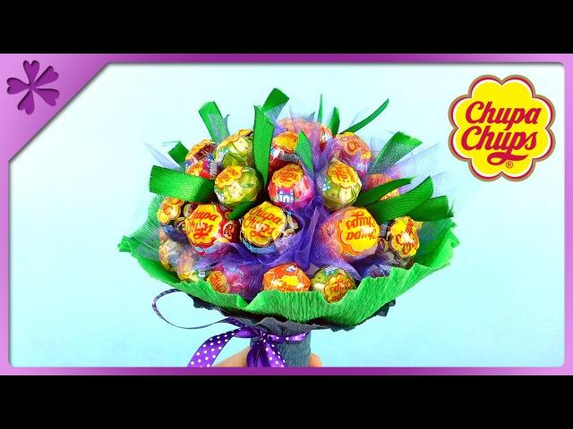 DIY Chupa Chups lollipop bouquet for Children's Day (ENG Subtitles) - Speed up 244