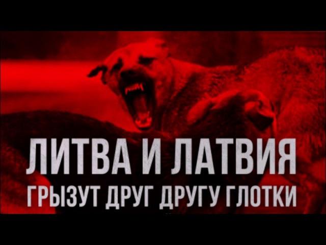 ►ЛИТВА И ЛАТВИЯ ГРЫЗУТ ДРУГ ДРУГУ ГЛОТКИ ЗА РУССКИЙ ТРАНЗИТ