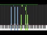 Cara Mia Addio (Turret Opera) - Portal 2 Piano Tutorial (Synthesia)