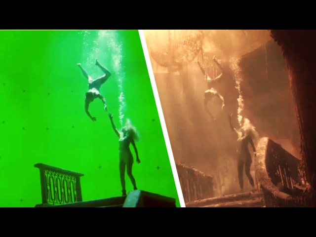 Amazing Before After Hollywood VFX Part 7