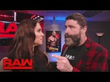 Mick Foley stands up to Stephanie McMahon: Raw, Feb. 20, 2017