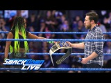 Naomi is forced to relinquish the SmackDown Women's Championship SmackDown LIVE, Feb. 21, 2017