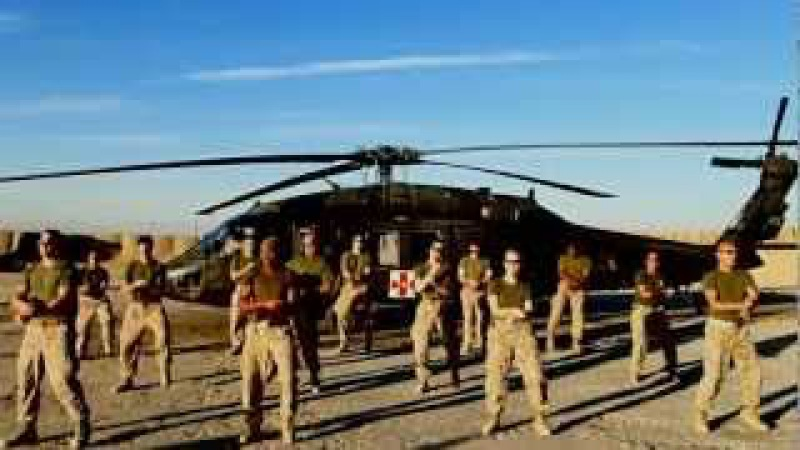 US Navy and Marines in Afghanistan Gangnam Style Parody