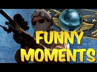 CS GO FUNTAGE #12 - Global Elite Adventures & CS:GO Funny Moments