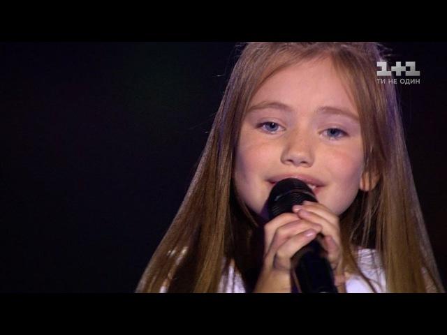 Александра Мироненко Тримай – выбор вслепую – Голос. Дети 3 сезон