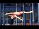 Anastasia Akentyeva - Siberian beauty pole dancing - old sugar factory