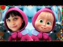 Маша и Медведь 😄 мультфильм игра мама и Лера детский летсплей на планшете смеем...