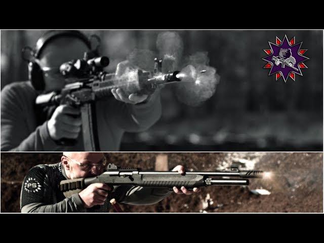 Выстрелы снятые со скоростью 150 тысяч кадров в секунду! - часть 2