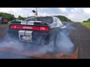 Dodge Challenger SRT8 392 BURNOUT DRAG RACING!