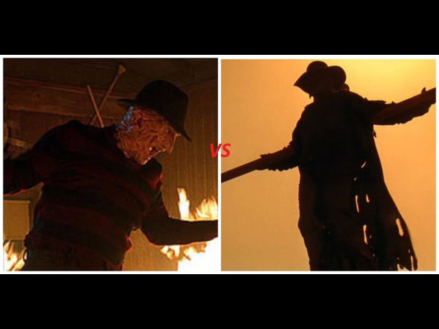 Фредди Крюгер VS Джиперс Криперс Freddy Krueger VS Jeepers Creepers