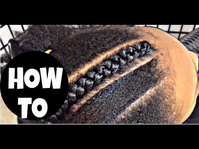 162. CORNROW WITH WEAVE 101 PART 2