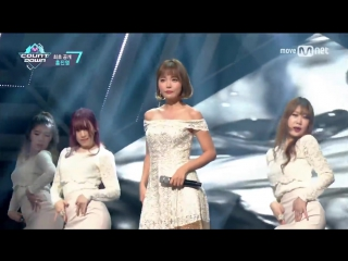 [hong jin young - loves me, loves me not] comeback stage  m countdown 170209 ep.510