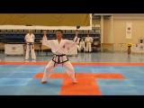Toi-Gye pattern by DPRK Taekwon-do ITF demo team / Тэ-Ге туль