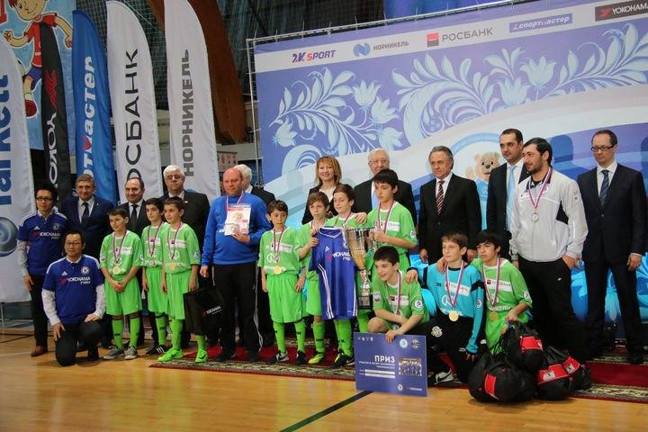 Финал 12-го сезона проекта «Мини-футбол – в школы» прошёл в УСК «Севастополь» сегодня, 31 марта