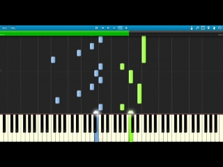 Synthesia- The Giver - Rosemarys Piano Theme (As played by Jeff Bridges)