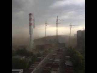 В Люберцах упал башенный кран на стройплощадке ЖК